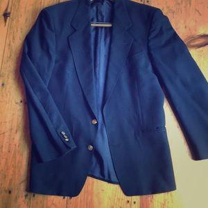 Men's Small Navy blue Blazer. Yves Saint Laurent